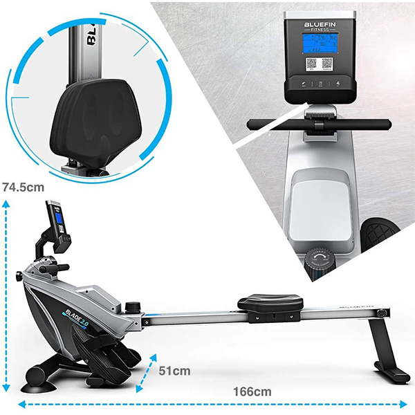 Vogatore-magnetico-Bluefin-Fitness-Blade-2-0-Rower-2